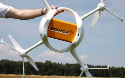 Swiss Postal Delivery via Drones – Tests to run until end of July