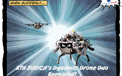 Dynamic Drone Duo – Parcel Delivery Edition
