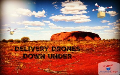 Disruptive and Innovative Parcel Drone Deliveries Down Under