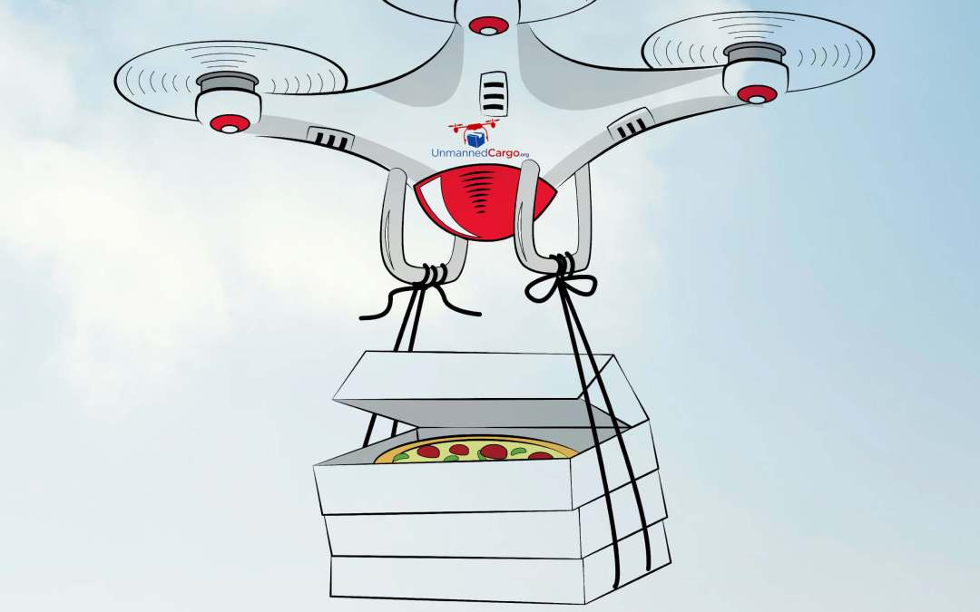 Pizza Pie in the Sky! – A Brief History of the Goal to Use Drones to Deliver Pizzas