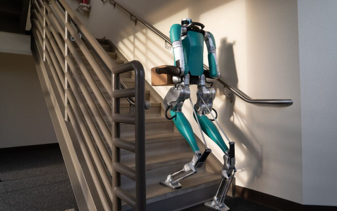 Bipedal Package Delivery Drones?
