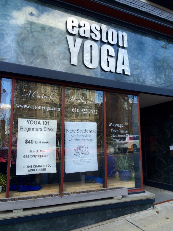 Easton Yoga Community Classes only $5