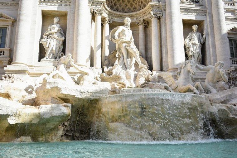 Historical Highlights of Rome - trevi fountain