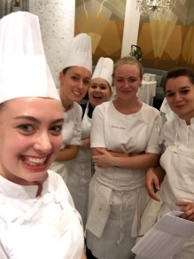 Quick selfie with the girls before service