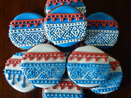 Norwegian Sweater Cookies