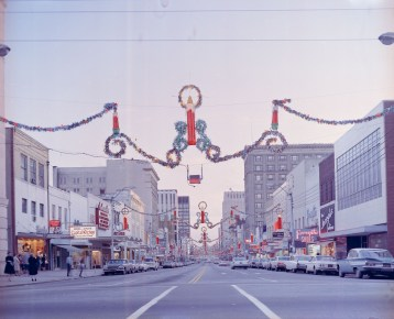 christmas december 1968 fayettevill street nc archives