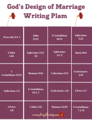 How to Make God's Words Stick Bible Verses about Marriage. Do you feel like your time with God is rushed and you can't remember what you read? Writing out Bible verses about Marriage can help make them both stick! #writingplan #scripture #love #encouragement #marriage