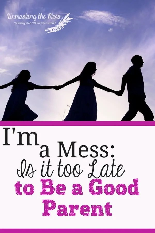 I'm a Mess: Is it Too Late to be a Good Parent?Messes and mistakes will happen but ultimatelyI know that God is working them out for my good and my children's good. We can be an overcomer of our past! #overcomequotes #fear #trauma #overcomechallenges #God