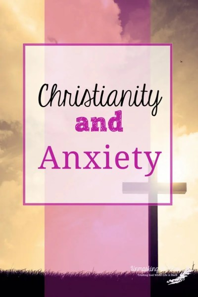 "Christianity and Anxiety. ""Do Not be Anxious,"" what does this mean? How do we live in a world full of scary, hard things and not have anxiety? The Bible has resources for us. #anxiousChristian #anxiety #worriedChristian #anxiety"