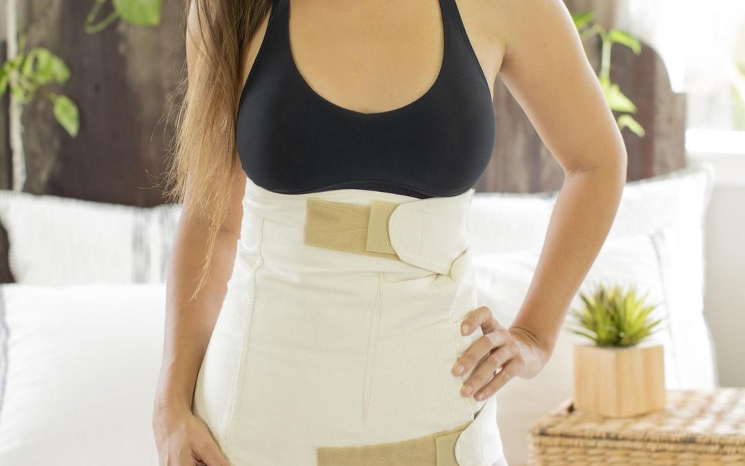 3 raisons d'utiliser une ceinture post accouchement