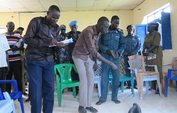 unmiss south sudan unpol training kuajok