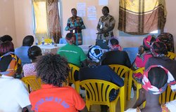unmiss south sudan gender affairs unit kuajok obstacles to 35 per cent political representation
