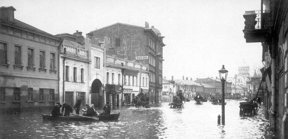 Наводнение 1908 г в Москве