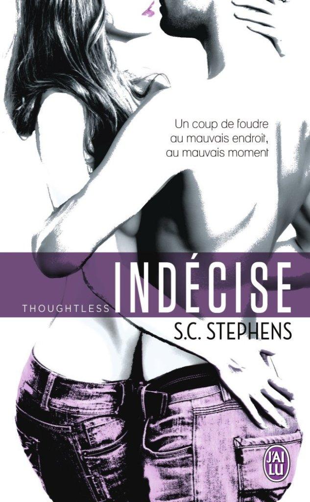 Chronique du roman Thougtless tome 1: Indécise