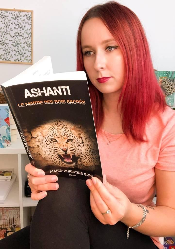 Chronique du roman Ashanti, le Maître des Bois sacrés, 1er coup de cœur de l'année