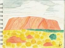 Uluru, Austràlia - 6 de gener de 2015