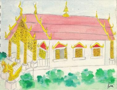 Phra Singh Wat, Chiang Mai - 29 de setembre de 2014