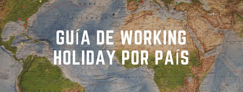 guia working holiday por país