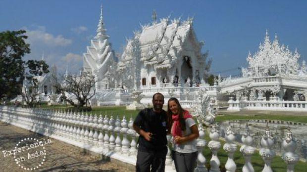 en el templo blanco