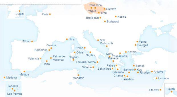 mapa de ruta SMARTWINGS