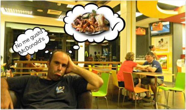 no me gusta McDonald's