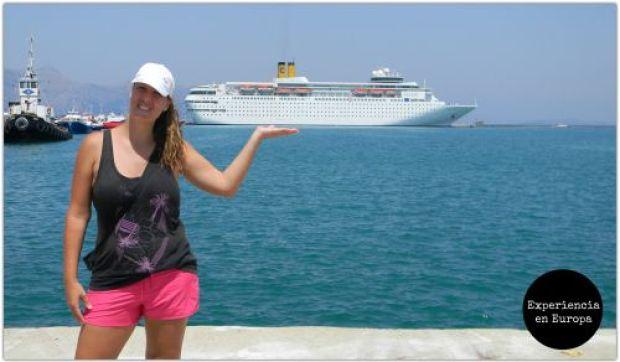 costa cruceros foto