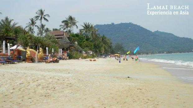 lamai beach tailandia