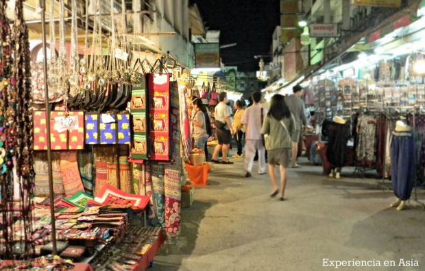 mercado nocturno tailandia