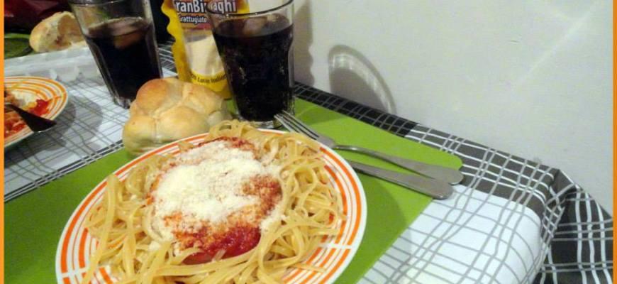 Fideos italianos