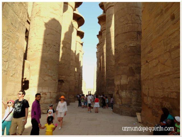 Templo de Karnak sala hipostila