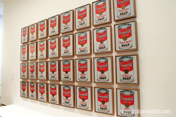 Campbells soup moma
