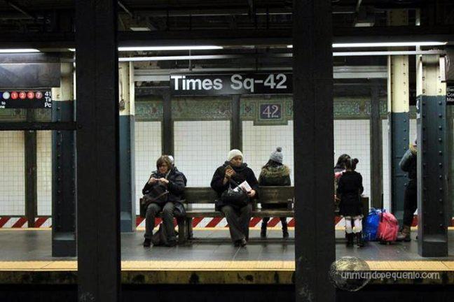 Estación de subway Times Square