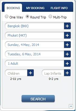 Buscar vuelos Bangkok Airways