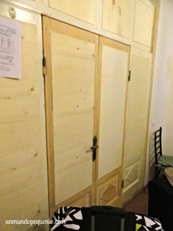 Intento de puerta albergo enrica roma