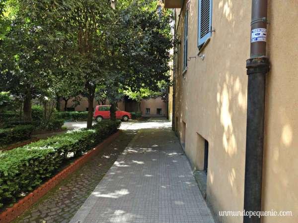 Patio del Albergo Enrica en Roma