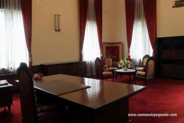 Oficina presidencial del Palacio de la Reunificación