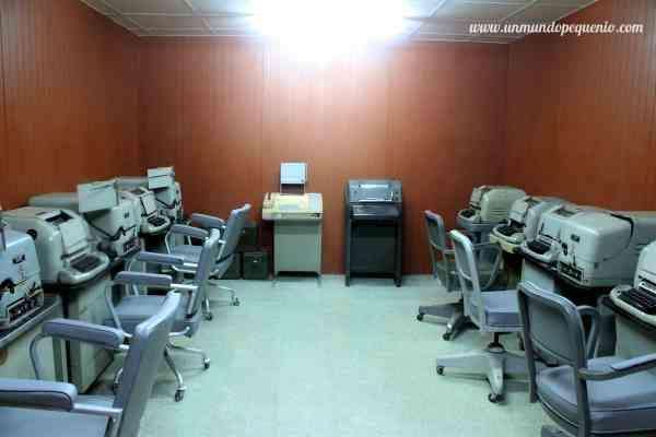 Telex Room Palacio de la Reunificación HCMC