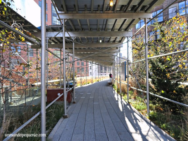 The High Line en construcción