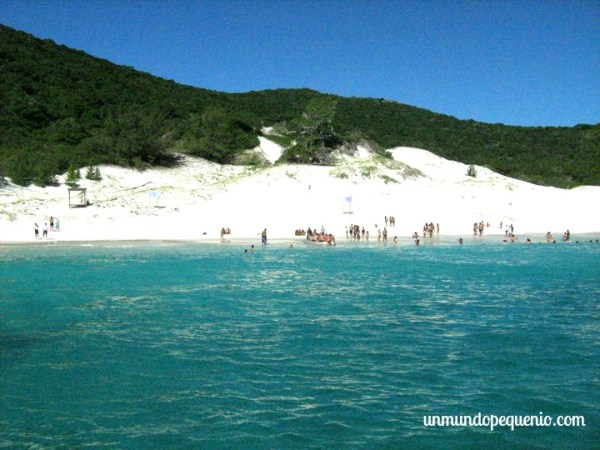 Ilha do Farol - Playas de  Arraial do Cabo