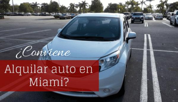 Alquilar auto en Miami