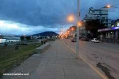 Avenida Maipú de noche