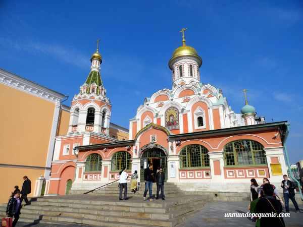 Catedral de Kazan en la Plaza Roja