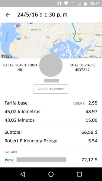 Uber a JFK