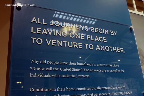 """""""Todos los viajes comienzan dejando un lugar para aventurarse hacia otro"""""""