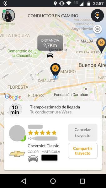 cabify-trayecto