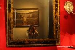 Espejo británico de fines del siglo XVII
