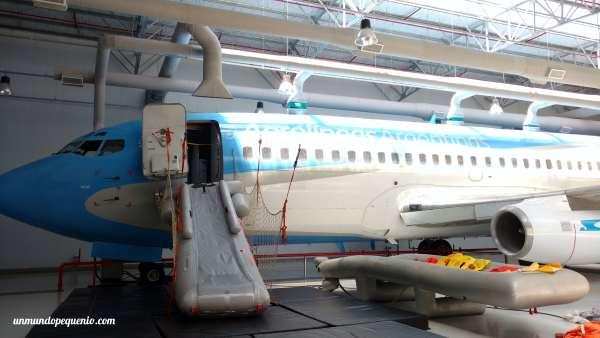 Avión mock-up