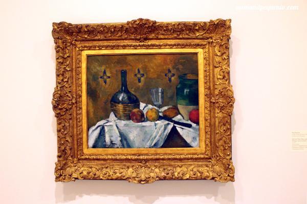 Frasco, vaso y jarra - Paul Cézanne 1877