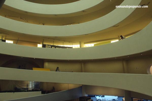 Interior del Guggenheim NY