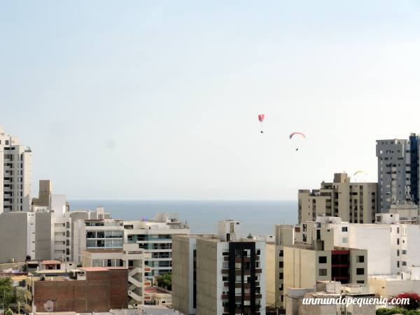 Vista hotel Dazzler Lima